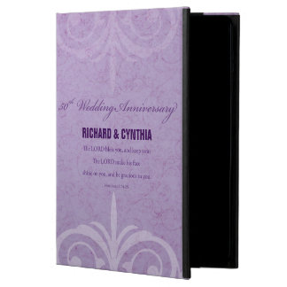 Custom Names, 50th Wedding Anniversary to Couple iPad Air Cover