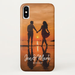 Case-Mate Barely There iPhone X Case with Brittany Spaniel Phone Cases design