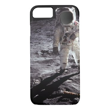 Beach Themed Custom Nasa Astronaught on moon iPhone 7 Case