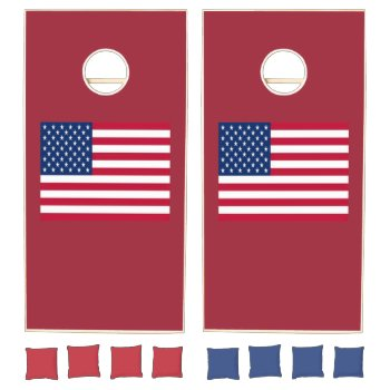 Custom Natural Wood Cornhole Set Cornhole Set by CREATIVEPARTYSTUFF at Zazzle