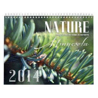 Custom Nature Calendar for 2014