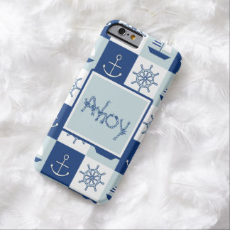 Custom Nautical Barely There iPhone 6 Case