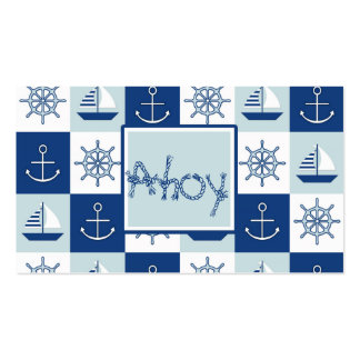 Custom Nautical Business Card