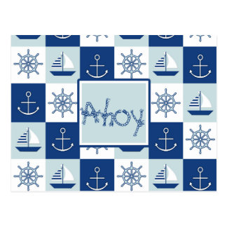 Custom Nautical Postcard