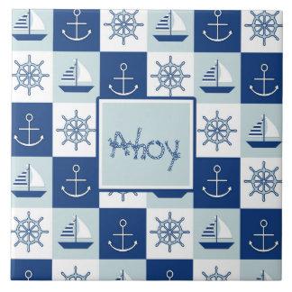 Custom Nautical Tile