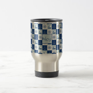 Custom Nautical Travel Mug