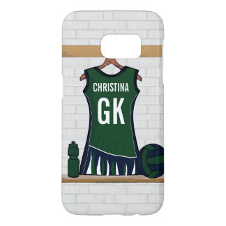 Custom Netball Uniform Samsung Galaxy S7 Case