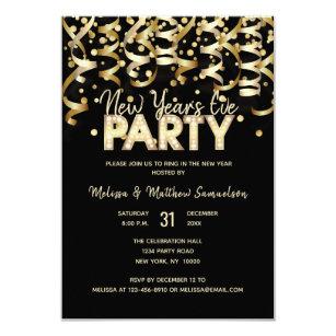 New Year S Eve Invitations Zazzle