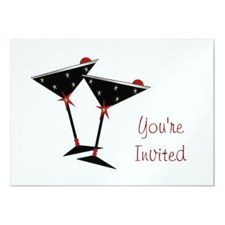 CUSTOM NEW YEAR'S PARTY INVITATION
