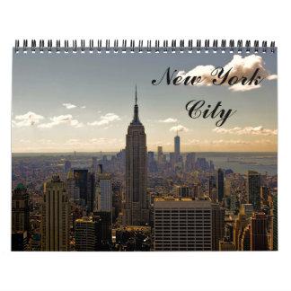 Custom New York City Photography Calendar