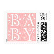 Custom Newborn Baby Announcement Stamps
