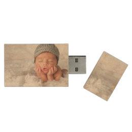 Custom Newborn Photo USB Flash Drive