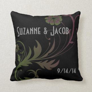Custom Newlywed Pillow