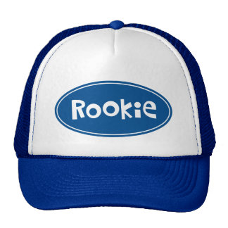 Custom nickname Rookie Trucker Hat