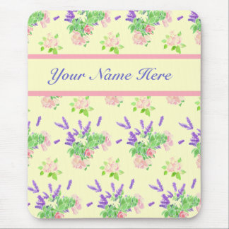 Custom Nostalgic Scents of Summer Pattern Mousepad