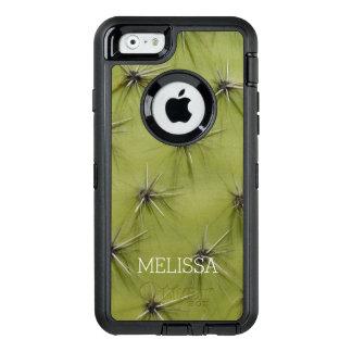 Custom novelty cactus print iPhone 6 Otterbox case