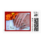 Custom Now & Forever-Wedding Save the Date Postage