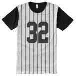 Custom Numbers for Baseball Basketball Sports All-Over-Print T-Shirt
