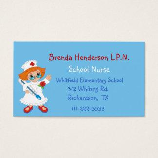 Custom Nurse Business Card