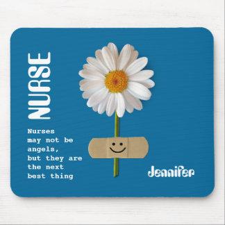 Custom Nurse s Name Gift Mousepad