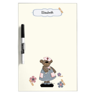 Custom Nurse's Name Gift Dry Erase Board