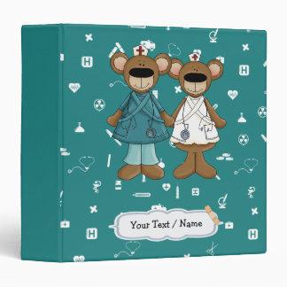 Custom Nurse's Name / Text Gift Binder