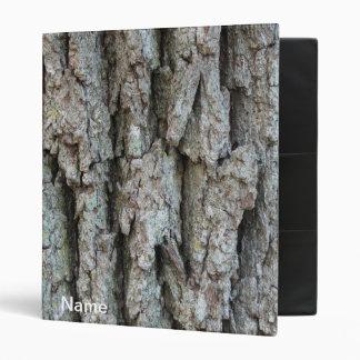 Custom Oak Bark Avery Binder