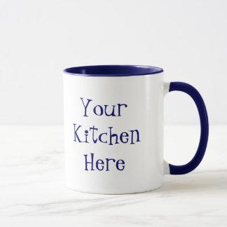 Custom Obey the Cook Food Slogan Mug