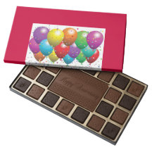 CUSTOM OCCASSION BOXED CHOCOLATES WITH CUSTOM IMAG