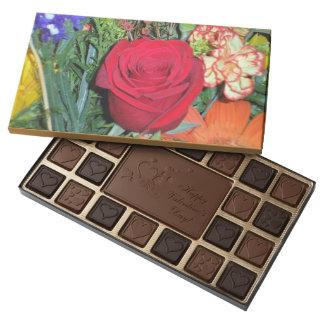 CUSTOM OCCASSION BOXED CHOCOLATES WITH CUSTOM IMAG