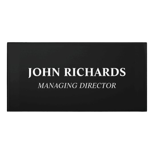 custom office door name plates acrylic wall sign. Black Bedroom Furniture Sets. Home Design Ideas
