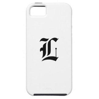 Custom Old English Font Letter (e.g. L for Letter) iPhone SE/5/5s Case