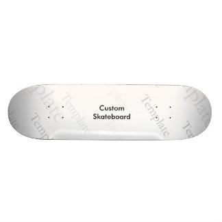 "Custom 'Old Skool' 8 1/2"" Skateboard Template"