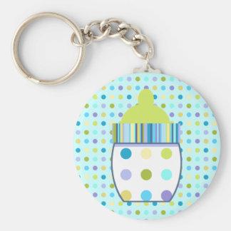 Custom Oliver Baby Bottle Keychain