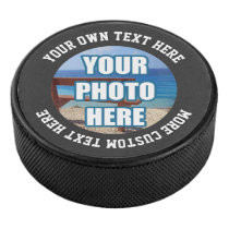 Custom One of a Kind Personalized Hockey Puck
