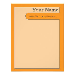 fancy letterhead zazzle