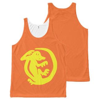 Custom - Orange Iguana Tank for Lad
