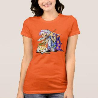 Custom Orange Womens Halloween Shirts