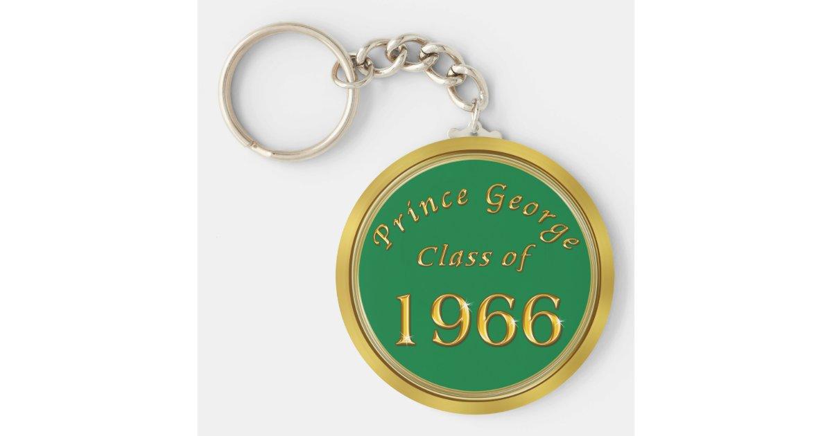 custom order 50th class reunion favors  keychains