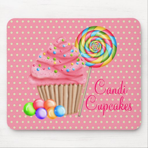 Custom Order For Candace- Candi Cupcakes Mouse Pad