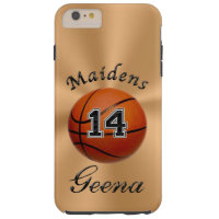 Custom Order Personalized Basketball Phone Case