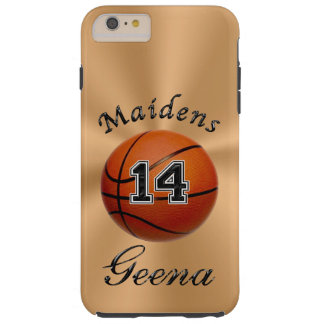 Custom Order Personalized Basketball Phone Case Tough iPhone 6 Plus Case