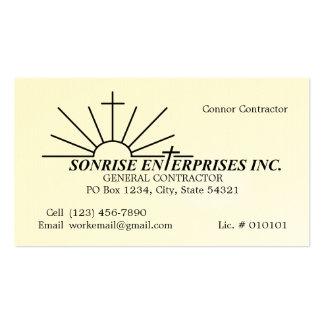 [Custom Order] Sonrise Enterprises Inc. 2014 Business Card