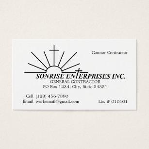 Incorporation business cards templates zazzle custom order sonrise enterprises inc 2014 business card m4hsunfo Images