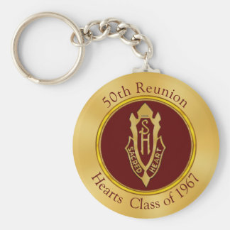 Custom Order Your 50th Reunion Gifts Keychain