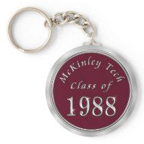 Custom Order Your Class Reunion Keychains