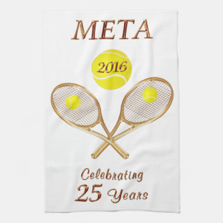 Custom Order Your Personalized Tennis Team Gifts Kitchen Towels