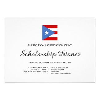 Custom Organization Dinner or Event: Puerto Rican Card