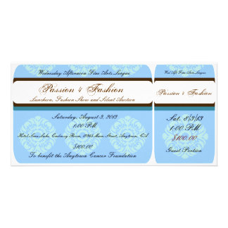 Custom Organization or Business Event Tickets Card