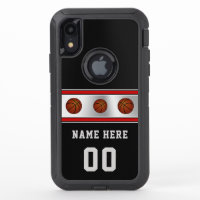 Custom OtterBox Defender Basketball Phone Cases